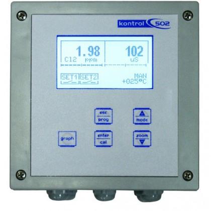 ANALIZADOR PH/RX-CLORO KONTROL PC502