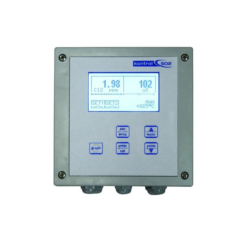 Analizador oxigeno turbidez kontrol to502 for Analizador de oxigeno